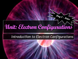 Lesson Plan: Intro To Electron Configurations - Notes, HW,