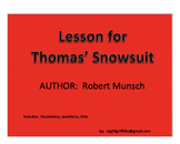 Lesson for Thomas' Snowsuit