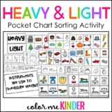 Lesson in a Snap! Heavy & Light Sorting Activity w Differe