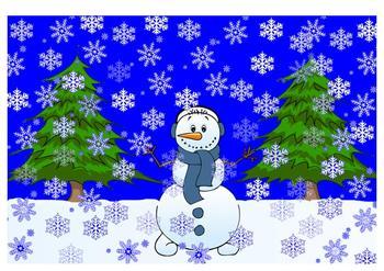 Let It Snow, Let It Snow, Let It Snow, Koosh Ball Game SMARTBoard