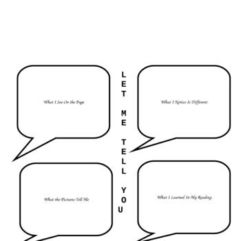 Let Me Tell You-Text to Text Connections for Non-Fiction