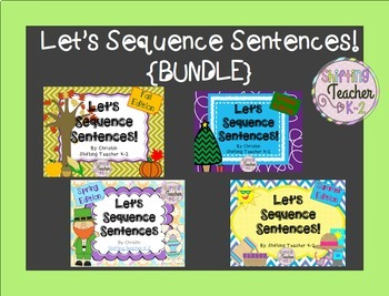 {BUNDLE} Let's Sequence Sentences