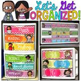 Let's Get Organized {Melonheadz Kids Edition - Teacher Too