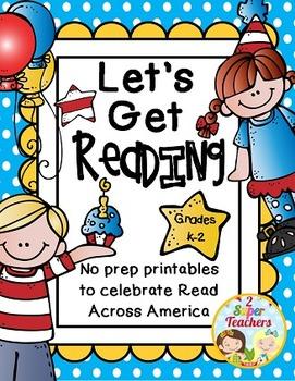 Read Across America Printables