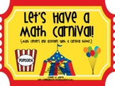 Let's Have a Math Carnival!
