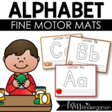 Let's Learn our Letters! {play dough mats}