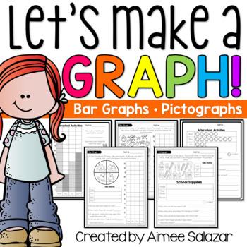 Let's Make a Bar Graph!-Common Core Aligned
