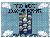 "Let's Put Our ""Tired"" Words to Bed Adjective Posters"
