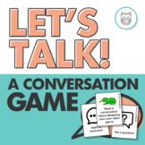 Let's Talk! Conversation Game