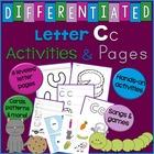 Letter C Activities, Worksheets, Unit Plan