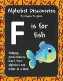 Letter F ~ Preschool Printable