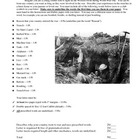 World War I Letter From the Trenches