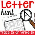 Letter Hunt - Going on a Letter Hunt