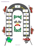 Letter Identification Road Race Game