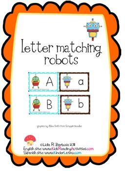 Letter Matching Robots