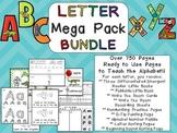 Letter Mega Pack BUNDLE- Kindergarten Alphabet Great for L