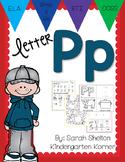 Letter Pp Practice (RTI)