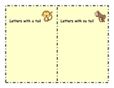 Letter Sort Literacy Center