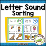 Letter Sound Sorting
