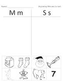 Letter Sounds - Beginning and Medial Sound Sorts - Kindergarten