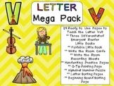 Letter Vv Mega Pack- Kindergarten Alphabet- Handwriting, L