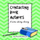 Book Authors Letter Writing Activity (freebie)