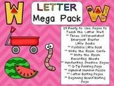 Letter Ww Mega Pack- Kindergarten Alphabet- Handwriting, L