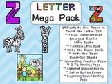 Letter Zz Mega Pack- Kindergarten Alphabet- Handwriting, L