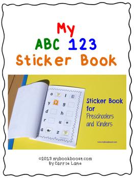 https://www.teacherspayteachers.com/Product/My-ABC-123-Sticker-Book-990792