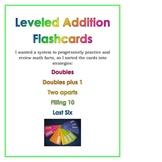Leveled Addition Flashcards