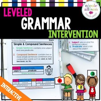 Leveled Grammar Intervention