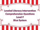 LLI Multiple Choice Short Answer Comprehension Skills Asse