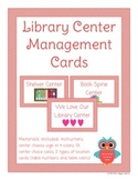 Library Center Management Cards
