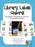 Library Labels Galore! {classroom book labels}