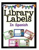 Library Labels In Spanish