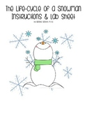 Life Cycle of a Snowman with Lab Instructions and Recordin
