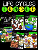 Life Cycles: Growing Bundle {Creative Clips Digital Clipart}
