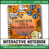Life Science Interactive Notebook - Change Over Time and C