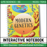 Life Science Interactive Notebook - Modern Genetics