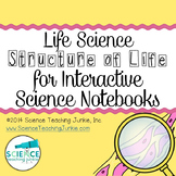 Life Science - Structure of Life for Interactive Science N