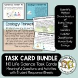 Life Science Task Card Bundle 130+ Thinkets - Science Warm