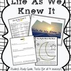 Life as We Knew It NOVEL UNIT