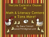 Lifecycles: Chicks Math and Literacy Unit #2 ~ Common Core