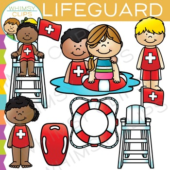 Lifeguard Clip Art