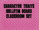 Artsy Teacher Cafe - Character Trait Education POSTERS Set/12
