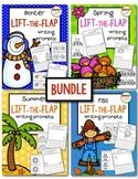 Seasons Lift-the-Flap Writing Prompts BUNDLE