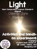 Light {Common Core Activities, Experiments, and Worksheets