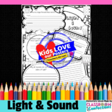 Light and Sound Poster Activity