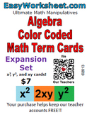 Like Term Cards - EXPANSION set