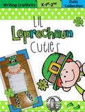 Lil Leprechaun Cuties Writing Craftivity & Data Collection